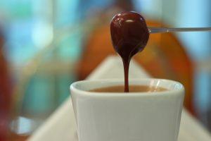 Veganski eurokrem, slatki premaz, veganska ishrana, heljda, bademovo mleko, čokolada